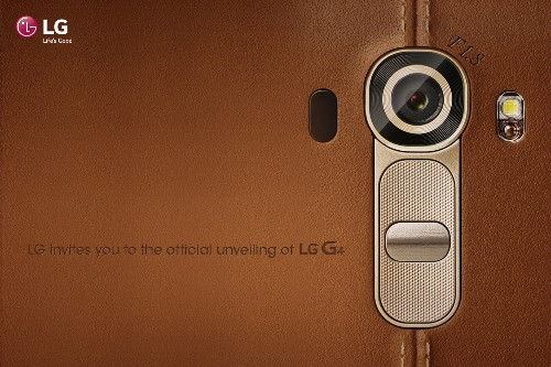 LG confirms G4 smartphone announcement for April 28th