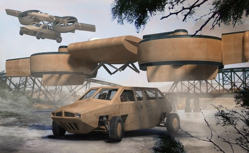 Lockheed Martin building a car-transporting drone for DARPA