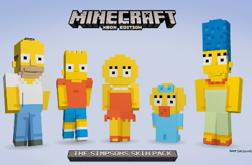 The Simpsons are coming to Minecraft on Xbox next month