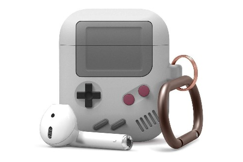 This AirPods case case looks like a Game Boy