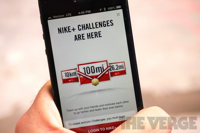 Nike+ Running iOS app gets more social with group challenges and chat