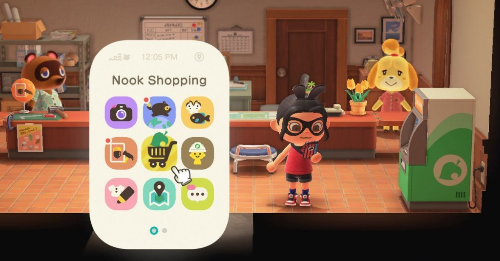 How to get the Nook Shopping phone app in Animal Crossing: New Horizons