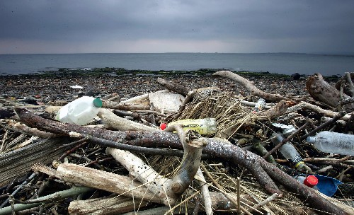 There are more than 5 trillion pieces of plastic floating in the ocean
