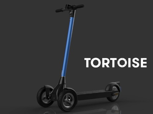 Remote-controlled scooters are coming, and Tortoise is (slowly) leading the charge