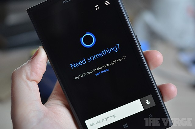 This is Cortana, Microsoft's answer to Siri