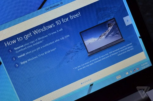 How to get the Windows 10 update