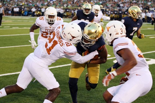 Comparing the Texas and Notre Dame defenses