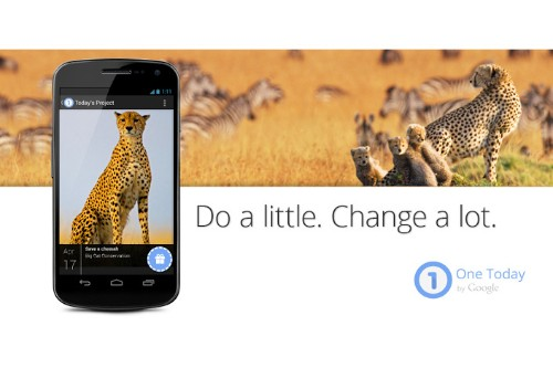Google's One Today brings app store scale to charitable donating