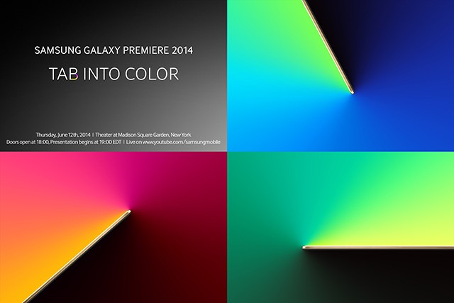 Samsung holding colorful Galaxy Tab event on June 12th