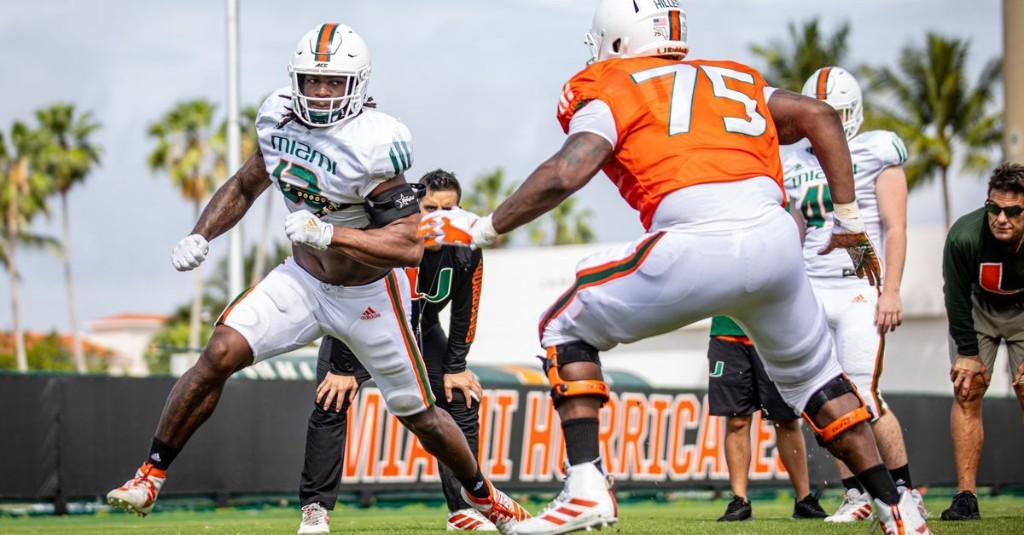 Miami Hurricanes 2020 Player Profile: Jahfari Harvey