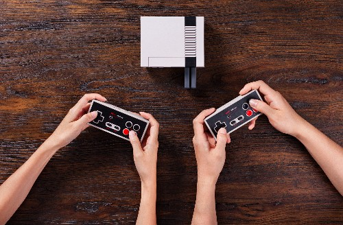 Nintendo's NES Classic is getting a new wireless controller in time for its relaunch
