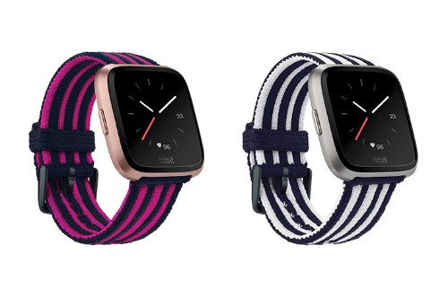 Fitbit releases new wristbands for its Versa smartwatch