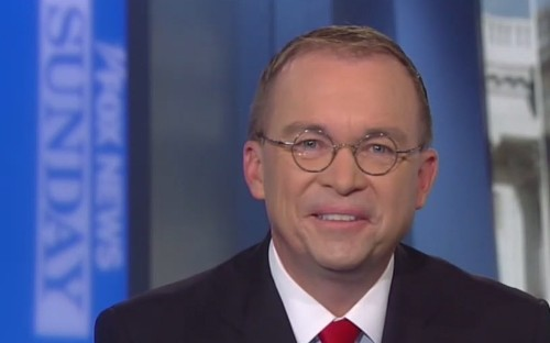 Team Trump's efforts to spin Mulvaney's quid pro quo confession are not going well