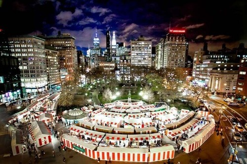 A Food Lover's Guide to NYC's Holiday Markets