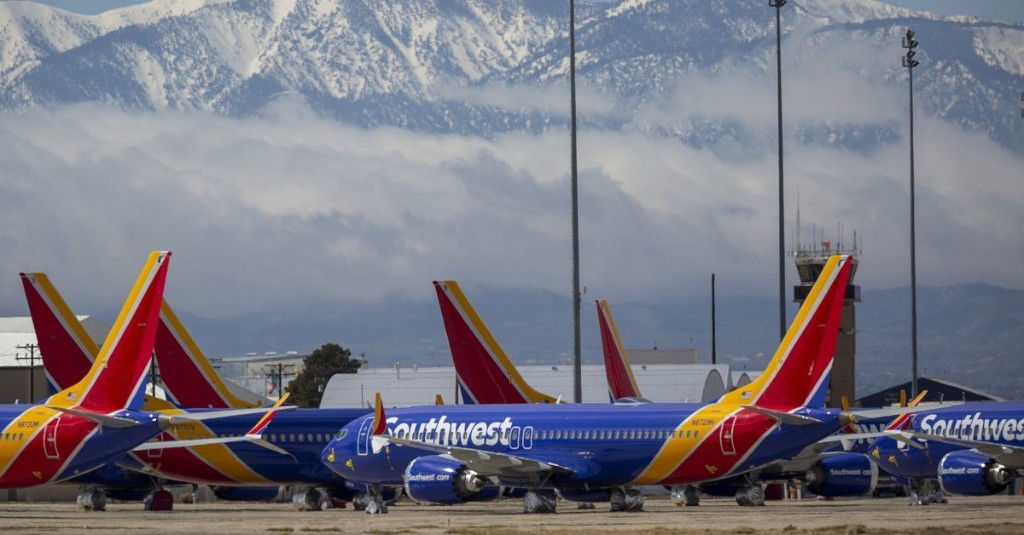 Southwest Airlines cuts back on COVID-19 cleaning to get planes back in the air quicker