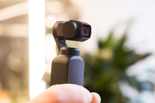 DJI's Osmo Pocket is a tiny handheld gimbal that shoots 4K footage