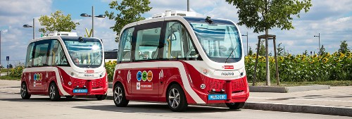 Pedestrian collision puts Vienna's driverless bus trial on hold