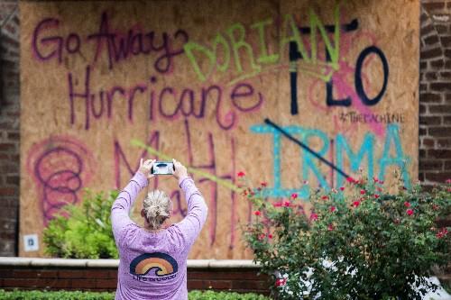"Hurricane Dorian is a Category 3 ""major hurricane"" just off the coast of the Carolinas"