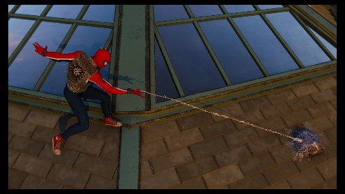 Dear Spider-Man, we need to talk about your backpack hoarding