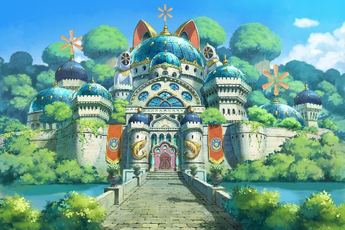 The gorgeous Studio Ghibli-style art of Ni No Kuni II