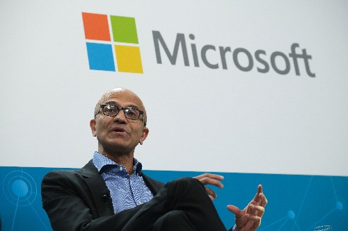 Microsoft's CEO looks to a future beyond Windows, iOS, and Android