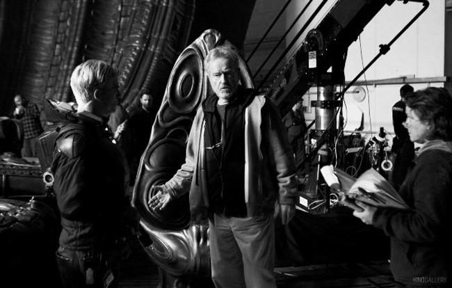 Ridley Scott wants to make at least three Prometheus sequels