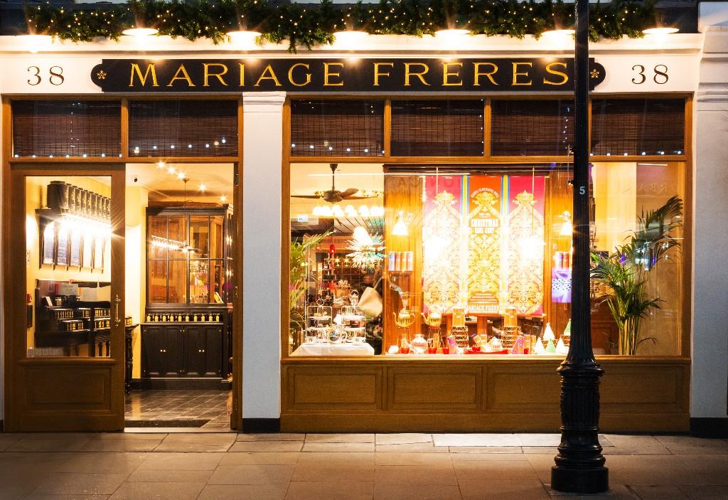 Haute-Couture Parisian Tea Emporium Opens Covent Garden Flagship