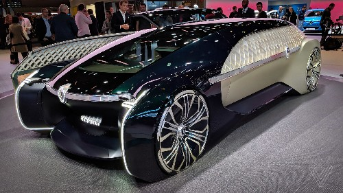 Renault's EZ-Ultimo luxury self-driving concept is a giant slice of ridiculous