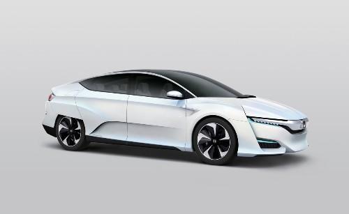 Honda's new hydrogen fuel-cell car looks like it belongs in a movie