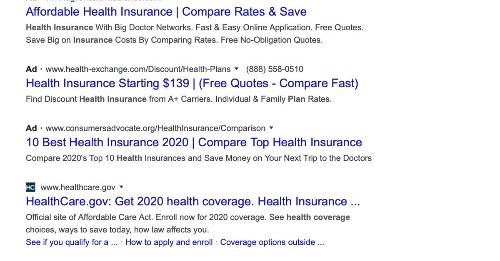 Google's ads just look like search results now