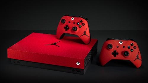 Microsoft and Nike have created a custom Jordan-branded Xbox One X
