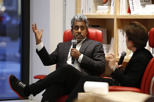 """Tech billionaires who donate millions are just """"bribing society at large,"""" Anand Giridharadas says"""