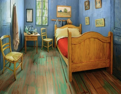 You can rent this Vincent van Gogh-inspired Airbnb for just $10 a night