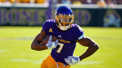 Zay Jones, the all-time college catches king, says he has the NFL Draft's best hands