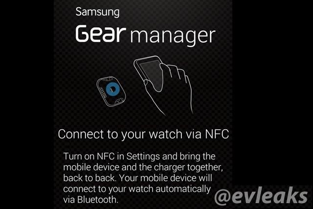 Samsung Galaxy Gear smartwatch app detailed in leaked screenshots
