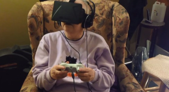 Dying grandmother uses Oculus Rift to walk outside again