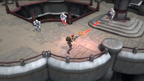 Prepare for The Force Awakens with this mobile Star Wars RPG