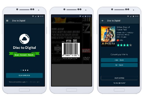 Vudu can turn your old DVDs into HD digital copies, and all you need is a smartphone