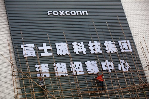 Foxconn replaces 60,000 factory workers with robots