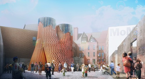 Self-assembling fungus tower will grow in New York this summer