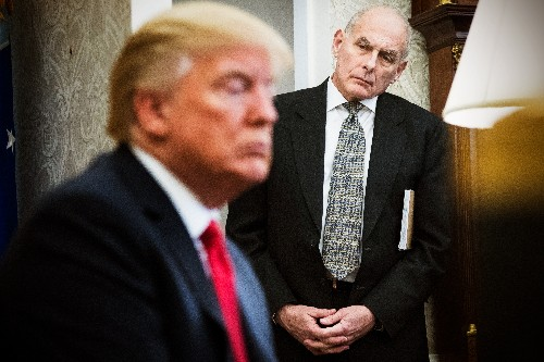 John Kelly's exit interview lifts the curtain on the chaos within the Trump White House