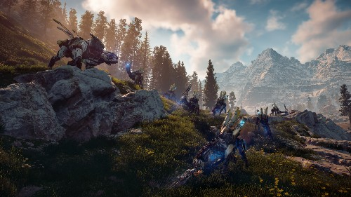 Horizon Zero Dawn is an open-world game where story is as important as scale