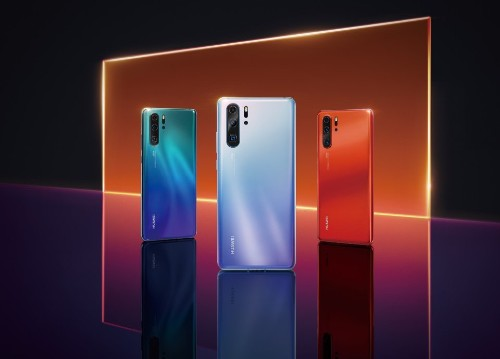 Huawei P30 Pro leaked photos reiterate specs and show off hot red color