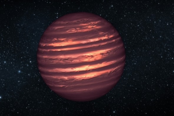 Water clouds have been detected outside of the solar system for the first time