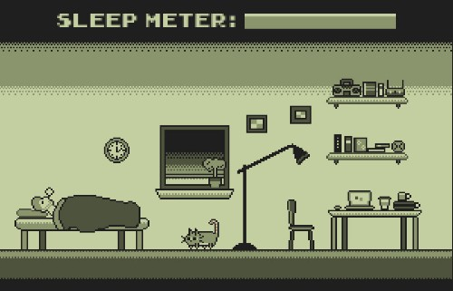 This cat simulator lets you wreak havoc on sleeping humans