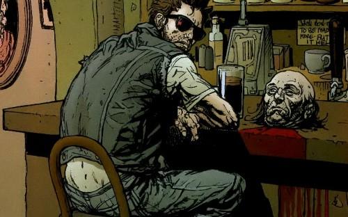 Seth Rogen is writing a 'Preacher' TV series for AMC