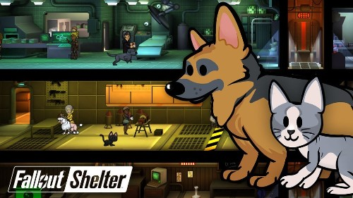 Fallout Shelter introduces Dogmeat and other pets to the vault