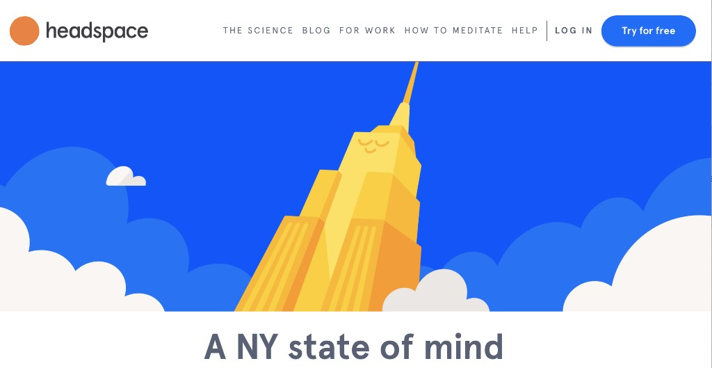 Headspace is letting people access free meditations and mindfulness exercises