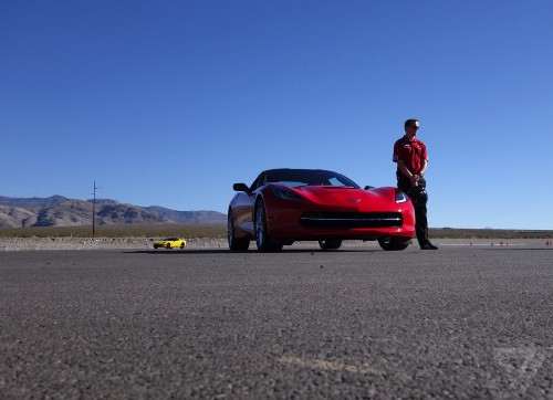 Corvette's Performance Data Recorder turns your drive into a video game