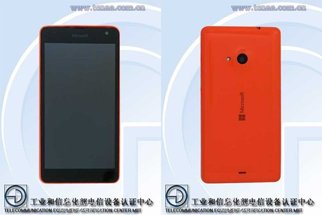 First Lumia with Microsoft branding spotted in leaked images